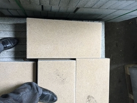贝蒙小区生态路面砖施工