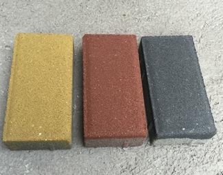 重庆彩色混凝土路面砖