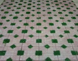 路面仿石生态砖